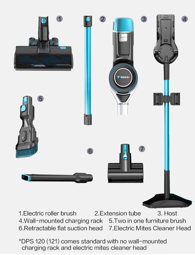 Cordless Handheld Stick Vacuum Cleaning Mop Cleaner - DPS121)_14